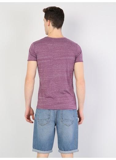 Colin's Desenli T-Shirt Mor